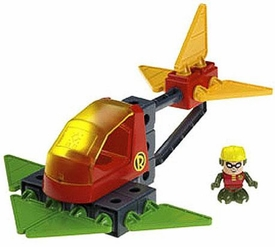 TRIO Building System DC Super Friends Playset Robin & Jet
