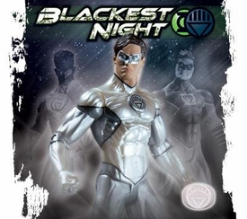 DC Direct 2010 NYCC New York Comic-Con Exclusive Blackest Night Action Figure Hal Jordan White Lantern