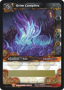 World of Warcraft Card Game WorldBreaker Single Card Legendary Loot #2 Grim Campfire