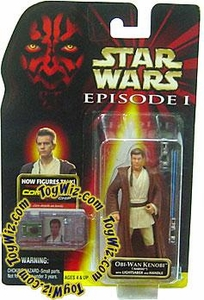 Star Wars Phantom Menace Obi-Wan Kenobi (Naboo) w/ Lightsaber and Handle