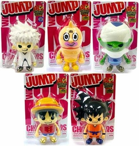 Shonen Weekly Jump Series 4 Set of 5 PVC Figures