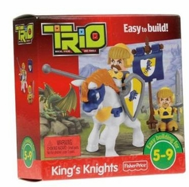 TRIO Building System Playset Figures King�s Knights