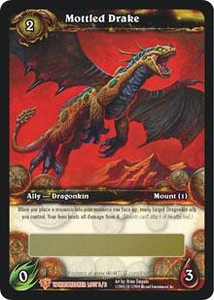 World of Warcraft Card Game WorldBreaker Single Card Legendary Loot #3 Mottled Drake
