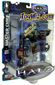 Halo Exclusive Action Figure Cobalt Battle Damaged Master Chief [Assault Rifle, Rocket Launcher & Plasma Pistol]