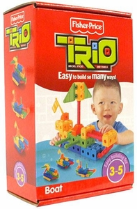 TRIO Building System Playset Figures Boat