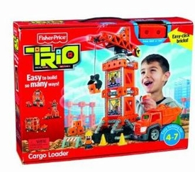 TRIO Building System Playset Figures Cargo Loader