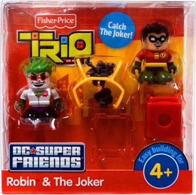 TRIO Building System DC Super Friends Figure 2-Pack Robin & Joker
