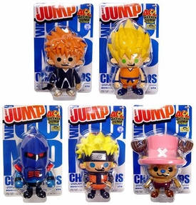 Shonen Weekly Jump Series 3 Set of 5 PVC Figures