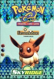 Pokemon-e SkyRidge Theme Deck Eeveelution
