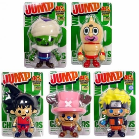 Shonen Weekly Jump Series 2 Set of 5 PVC Figures