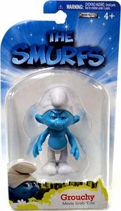 The Smurfs Movie Grab 'Ems Mini Figure Grouchy