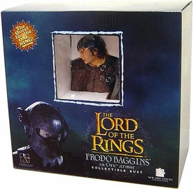 Lord of the Rings Gentle Giant Mini-Busts Frodo in Mordor Orc Disguise