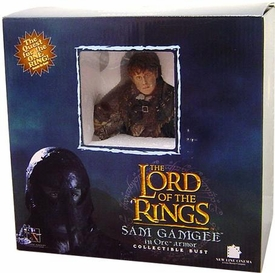 Lord of the Rings Gentle Giant Mini-Busts Sam in Mordor Orc Disguise