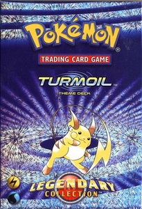 Pokemon Legendary Collection Theme Deck Turmoil