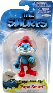 The Smurfs Movie Grab 'Ems Mini Figure Papa Smurf