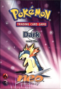 Pokemon Neo 4 Destiny Theme Deck Dark
