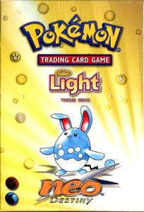 Pokemon Neo 4 Destiny Theme Deck Light