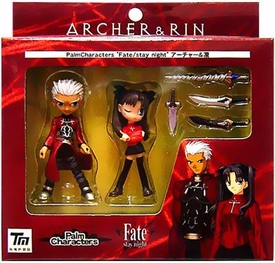 Fate Stay Night Palm Characters Boxed Set Rin & Archer