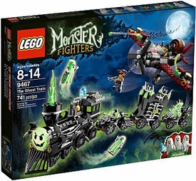 LEGO Monster Fighters Exclusive Set #9467 Ghost Train