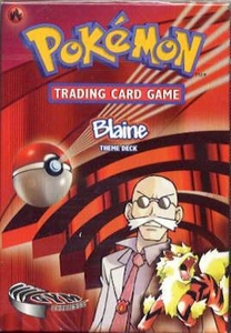 Pokemon Gym Challenge Theme Deck Blaine