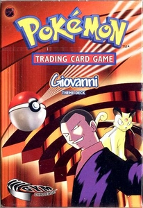 Pokemon Gym Challenge Theme Deck Giovanni
