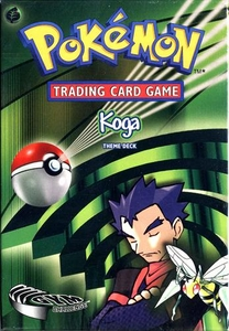 Pokemon Gym Challenge Theme Deck Koga