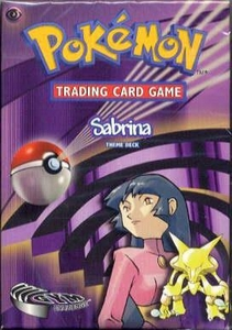 Pokemon Gym Challenge Theme Deck Sabrina
