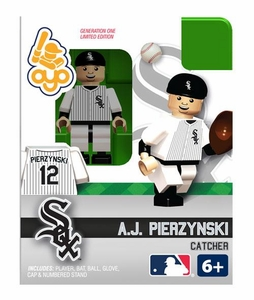 OYO Baseball MLB Building Brick Minifigure A.J. Pierzynski [Chicago White Sox]