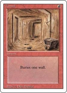 Magic the Gathering Revised Edition Single Card Uncommon Tunnel