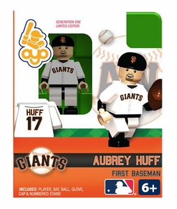 OYO Baseball MLB Building Brick Minifigure Aubrey Huff [San Francisco Giants]