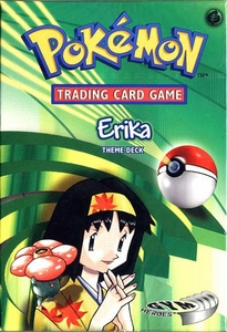 Pokemon Gym Heroes Theme Deck Erika