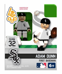 OYO Baseball MLB Building Brick Minifigure Adam Dunn [Chicago White Sox]