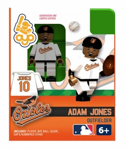 OYO Baseball MLB Building Brick Minifigure Adam Jones [Baltimore Orioles]