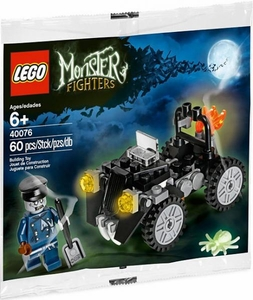 LEGO Monster Fighters Set #40076 Zombie Car & Driver [Bagged]
