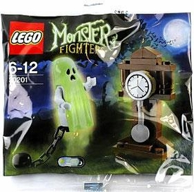 LEGO Monster Fighters Set #30201 Ghost & Grandfather Clock [Bagged]