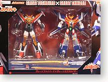 Gaogaigo Machine Getter 2-Pack Great Fighbird & Great Exkizer