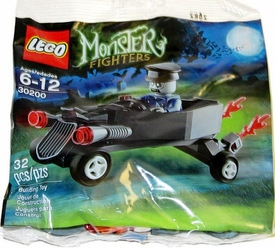 LEGO Monster Fighters Set #30200 Coffin Car with Zombie Chauffeur [Bagged]