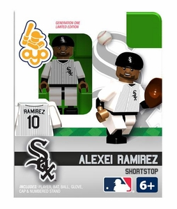 OYO Baseball MLB Building Brick Minifigure Alexi Ramirez [Chicago White Sox]