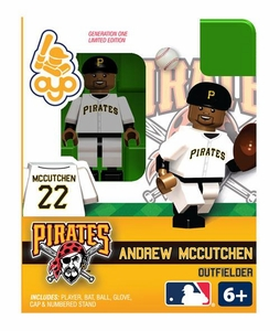 OYO Baseball MLB Building Brick Minifigure Andrew McCutchen [Pittsburgh Pirates]
