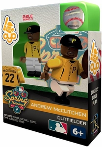 OYO Baseball MLB Building Brick Minifigure Spring Training Andrew McCutchen [Pittsburgh Pirates]