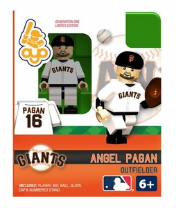 OYO Baseball MLB Building Brick Minifigure Angel Pagan  [San Francisco Giants]