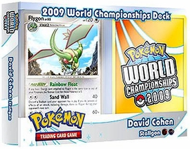 Pokemon Card Game 2009 World Championship Deck David Cohen's