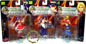 Japanese Import King of Fighters Girls Series 1 Set of 3 Figures