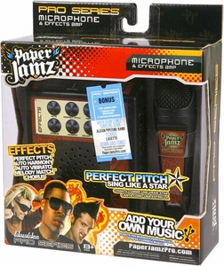 Paper Jamz Pro Series Microphone & Effects Amp [Brown Design]