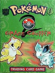 Pokemon Base 2 Theme Deck Grass Chopper
