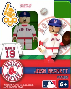 OYO Baseball MLB Building Brick Minifigure Josh Beckett [Boston Red Sox]