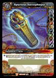 World of Warcraft Card Game Tomb of the Forgotten Single Card Legendary Loot #2 Spurious Sarcophagus