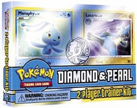 Pokemon Diamond & Pearl 2-Player Starter Deck Trainers Kit Set