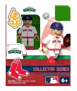 OYO Baseball MLB Building Brick Minifigure Boston Red Sox 100th Anniversary Figure [Boston Red Sox]