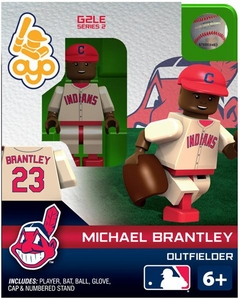 OYO Baseball MLB Generation 2 Building Brick Minifigure Michael Brantley [Cleveland Indians]